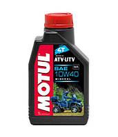 Минеральное масло для квадроциклов Motul ATV-UTV 4T 10W-40