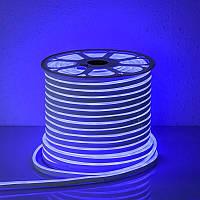 """Светодиодная лента 24В """"Dream light"""" гибкий неон IP68 синяя"""