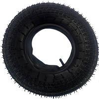 Покрышка усиленная 3.50-8 на колесо для тачки 8PR + камера
