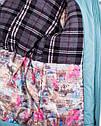 Зимнее пальто подростковое для девочек с натуральным мехом Размеры 38- 44, фото 4