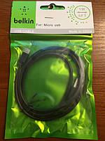 """Дата кабель универсальный USB - USB micro """"Belkin"""""""