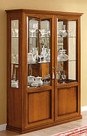Витрина 2 дверная с подсветкой NOSTALGIA - классика Camelgroup