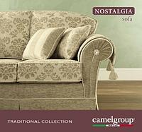 Итальянская коллекция мягкая мебель NOSTALGIA - классика Camelgroup