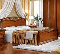 Итальянская кровать с изножьем Nostalgia Curvo Fregio 160*200 - классика Camelgroup