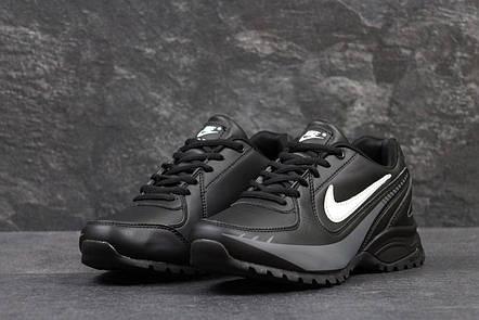 Кроссовки мужские Nike air max черные с белым,46р, фото 2