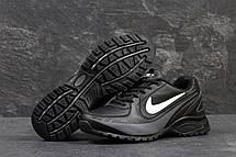 Кроссовки мужские Nike air max черные с белым,46р, фото 3