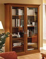 Книжный шкаф на 2 двери NOSTALGIA - классика Camelgroup