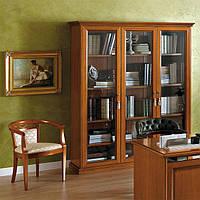 Книжный шкаф на 3 двери NOSTALGIA - классика Camelgroup (снято с производства)