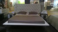 Кожаная кровать VOYAGE / Вояж - мягкая кровать из кожи EuropeU