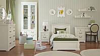 Кровать 90 РИВЬЕРА МИНИ цвет эмаль белая - Бучинский