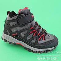 Фирменные ботинки зимние  для мальчиков ТМ ТомМ р. 31,32,33,34,38