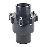 Обратный клапан ПВХ ERA поворотный 75 мм