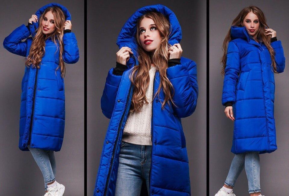 fdb91c6274d Зимнее очень теплое удлиненное пальто - дутик на синтепоне   продажа ...