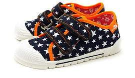 Детская текстильная обувь для девочек Renbut (Польша)