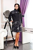 Куртка - пальто женское стильное черное