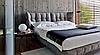 Мягкая кровать PICASSO 180 - из ткани EuropeU