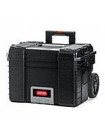 Ящик для инструментов пластиковый с телескопической ручкой и колесиками 564Х465Х480 мм Curver CR-17200383