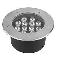 Светильник грунтовый GR-01 LED 12W  230V   размер  180мм*90мм  IP67  6400K