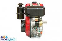 Двигатель дизельный WEIMA WM178FES 6,0 л.с. (вал ШПОНКА, электростартер, 1800об/мин) + редуктор