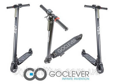 Електричний самокат CITY RIDER BLACK GOCLEVER