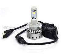 H7 PL-11G Mini Size LED Headlight Premium Short (5000Lm) Chips: Philips MZ + Canbus Function