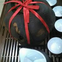 Шу (темный или черный) пуэр в грейпфруте, 800 грамм, очень высокого качества