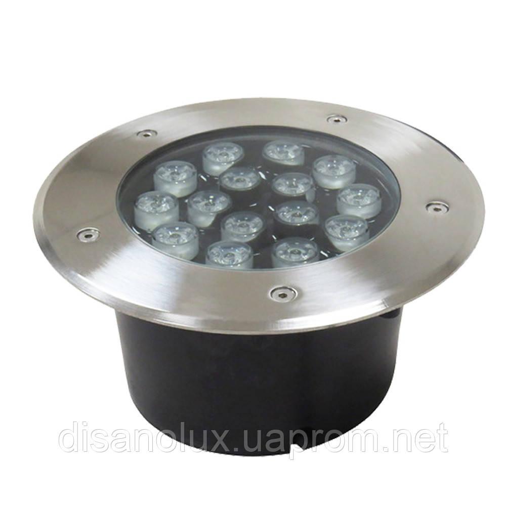Светильник грунтовый GR-01 LED 15W  230V   размер  200мм*90мм  IP67   3000K