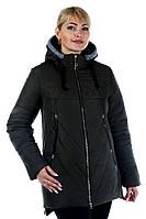 """Женская зимняя куртка от производителя. """"Чёрный"""""""