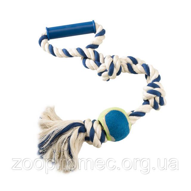 Игрушка из каната мяч для собак (Ферпласт)