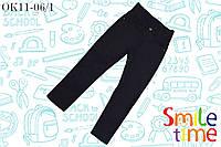 Брюки плотные для мальчика в наличии р.128,134 SmileTime Fashion, черные