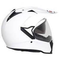 Удобный и легкий шлем Мотард SUOMY  с очками залог безопасности  размер XS