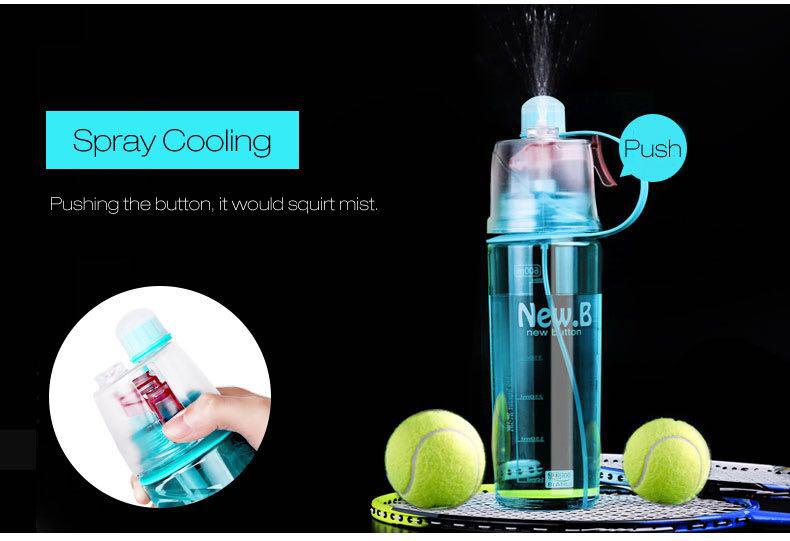 84ee27d92762 Спортивная бутылка для воды с распылителем New. B – 600мл   продажа ...