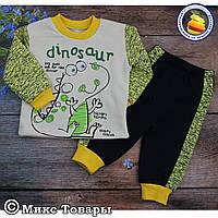 Костюм для малыша с брюками на манжете Размеры: 6- 9 месяцев (5693-2)
