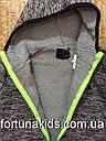 Термопарки на меху для мальчиков  H&S 134-164 р.р., фото 5