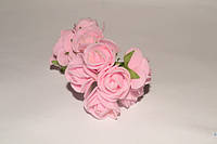 Роза латексная розовая