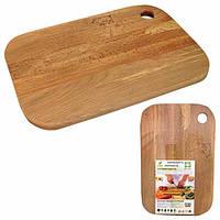 Доска кухонная деревянная 20х30см для мяса 8924