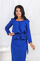 ДТ1158 Комплект блузка+юбка размеры 50-56