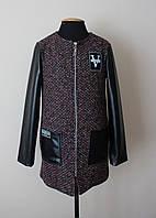 Детское демисезонное пальто для девочки