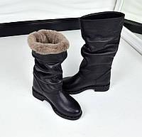 Женские зимние сапоги натуральная кожа, 36-40р.
