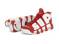 Мужские кроссовки Nike Air More Uptempo X Supreme 902290-600