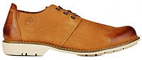 Мужские туфли Timberland Oxford Тимберленд рыжие