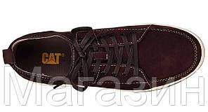 Мужские кроссовки Caterpillar CAT Катерпиллеры коричневые, фото 2