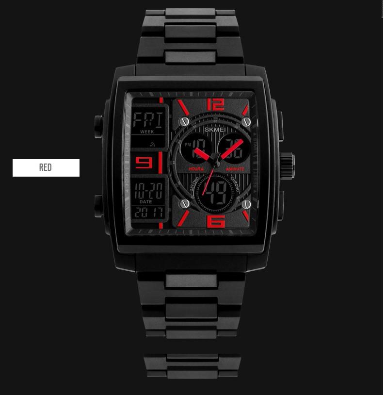 Мужские наручные часы SKMEI 1274 красные