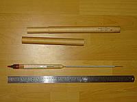 Ареометр для нефти с термометром АНТ-1 710-770 (ГОСТ 1289-57), КЛП, 1976