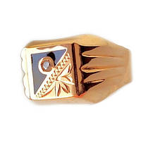 Золотой мужской перстень  20.5