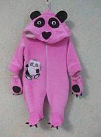 Комбинезон Панда с рукавичками, размер 40