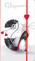 """Визитница на 120 визиток """"Glamour cats"""" L5906"""