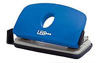 Дырокол 10 листов пластик  L1422-04 синий ТМ LEO