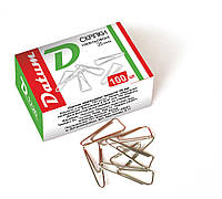 Скрепки треугольные 25 мм. 100 штук D1720 ТМ Datum 300083