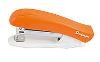Степлер №10 12л пластик D2022-11 оранжевый
